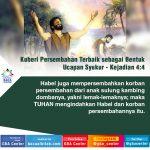 Korban Persembahan Terbaik sebagai Bentuk Ucapan Syukur | Kejadian 4:4 (TB)