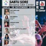 Sabtu Sore Bersama GBA Center | 28 November 2020