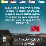 Jangan Salah Kaprah! | Matius 7:21 (TB)