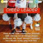 Cheer Leader | Yesaya 50:4a (TB)