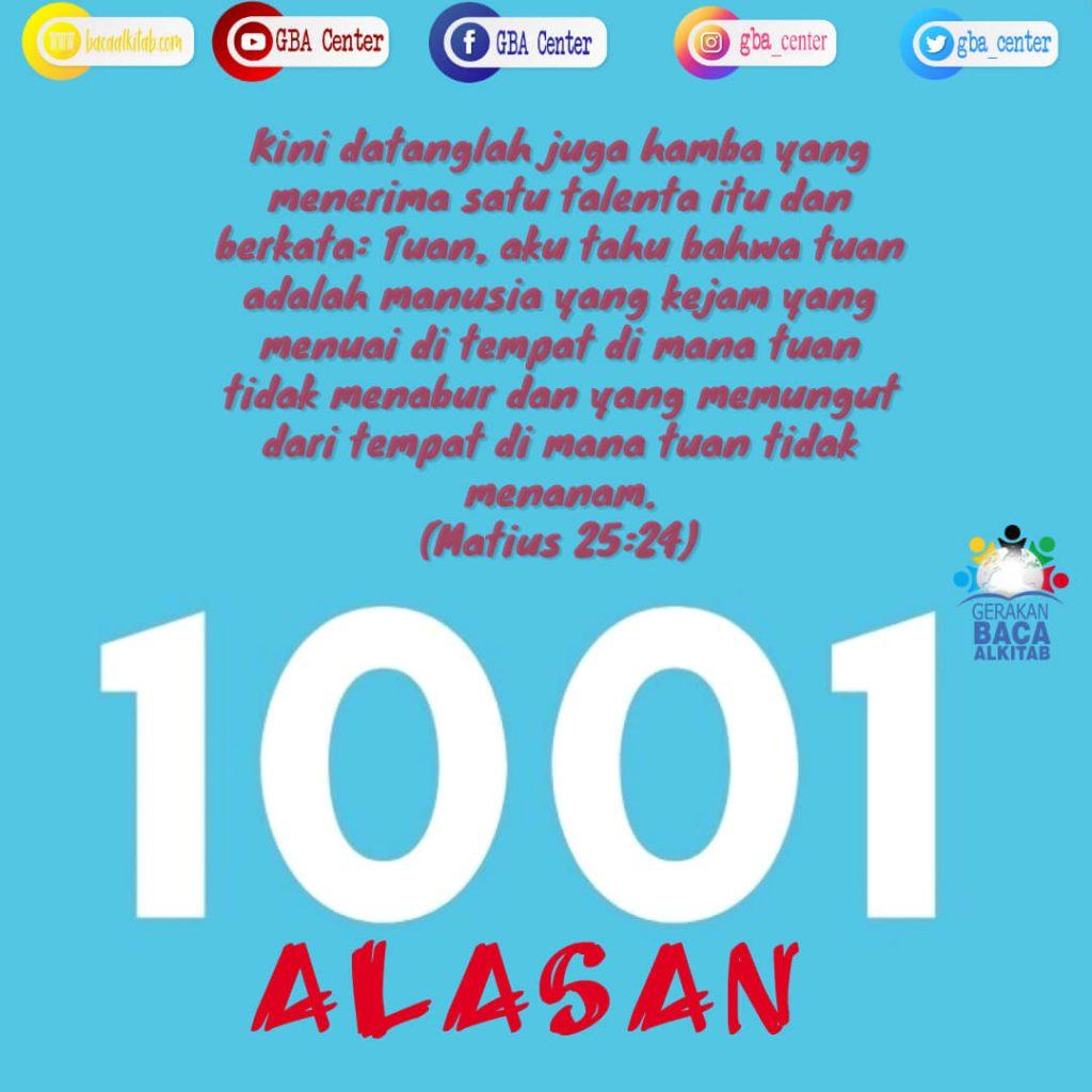 1001 Alasan