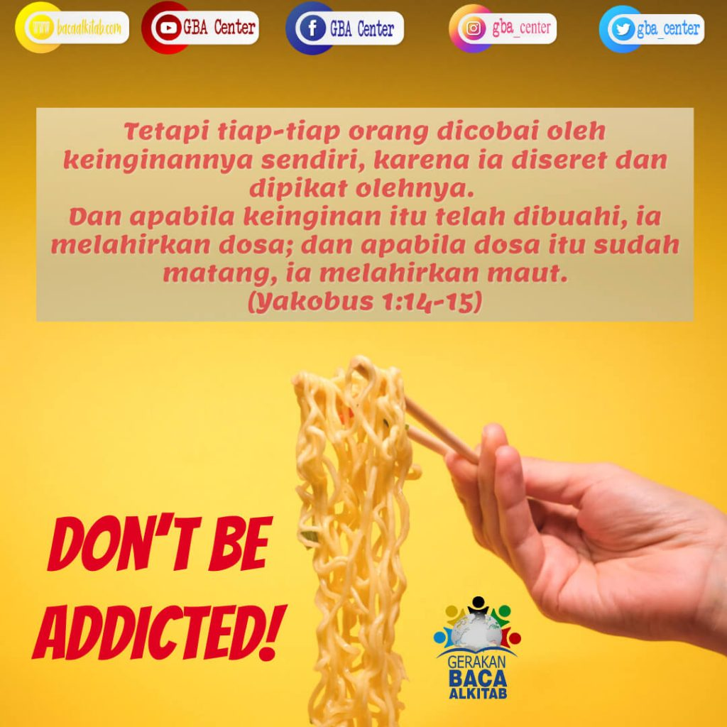 Don't be Addicted!