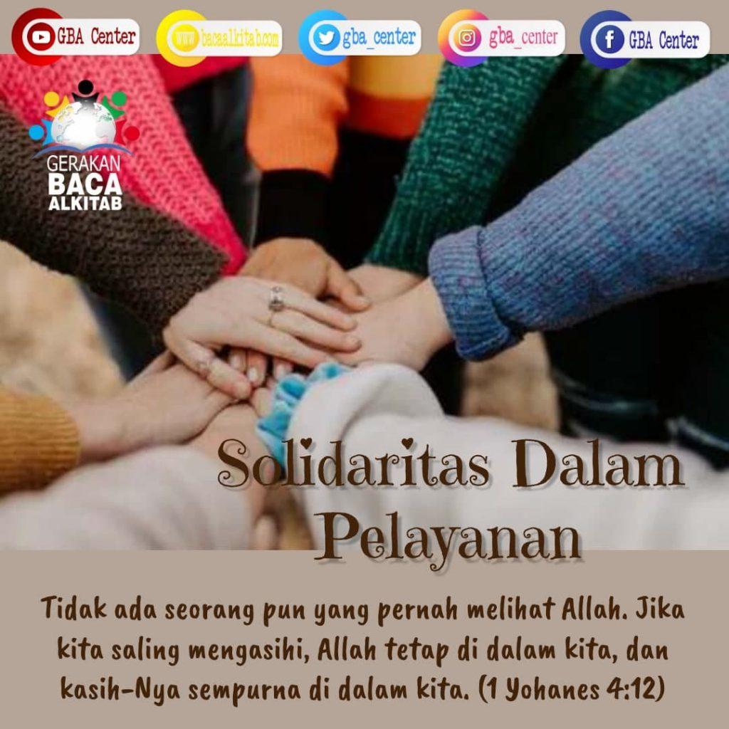 Solidaritas dalam Pelayanan