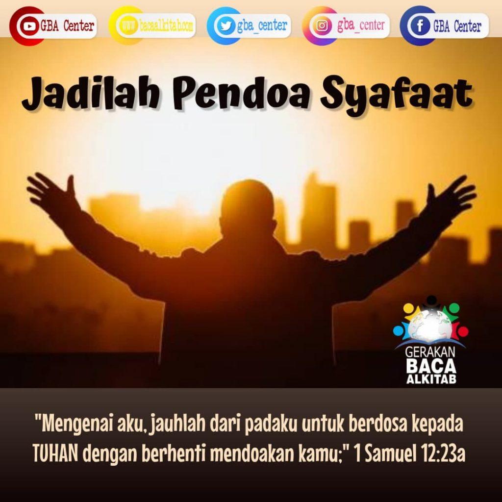 Jadilah Pendoa Syafaat