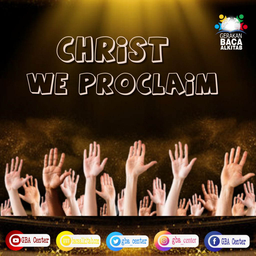 Christ We Proclaim