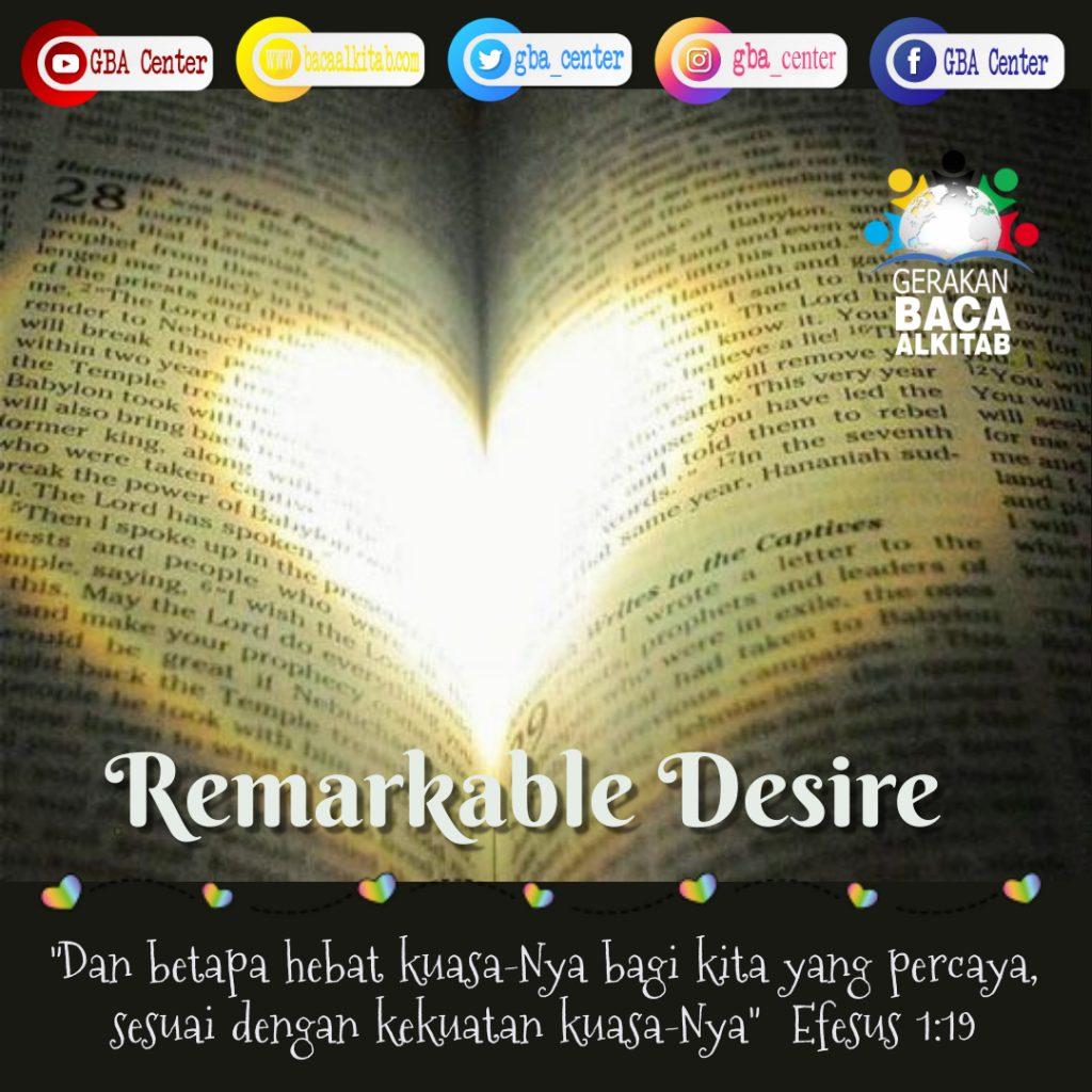 Remarkable Desire