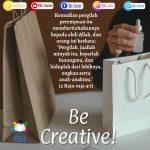 Be Creative! | 2 Raja-raja 4:7 (TB)